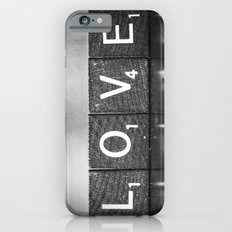 Love is a Beautiful Word - a fine art photograph iPhone 6 Slim Case