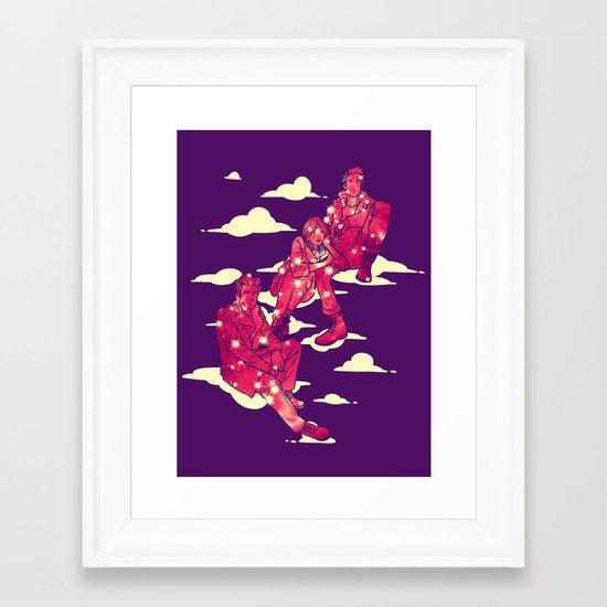 The Inner Space Framed Art Print