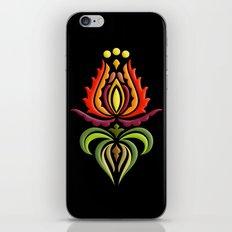 Fancy Mantle on Black iPhone & iPod Skin