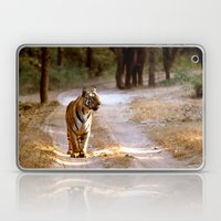 TIGER ON TRACK Laptop & iPad Skin