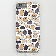 Pug Life Doodle iPhone 6 Slim Case