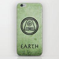 Avatar Last Airbender Elements - Earth iPhone & iPod Skin