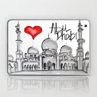 I Love Abu Dhabi  Laptop & iPad Skin