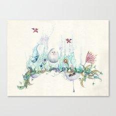 Doing Dolphin  Canvas Print