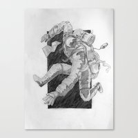 backpacking Canvas Print
