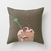 ice-cream Throw Pillow