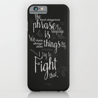 Fight That - Quote For M… iPhone 6 Slim Case