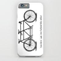 in tandem iPhone 6 Slim Case