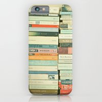 photography iPhone & iPod Cases featuring Bookworm by Cassia Beck