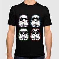 Kiss Troopers Mens Fitted Tee Black SMALL