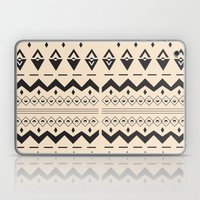 Peach Aztec Laptop & iPad Skin