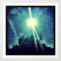 California sunshine. Art Print