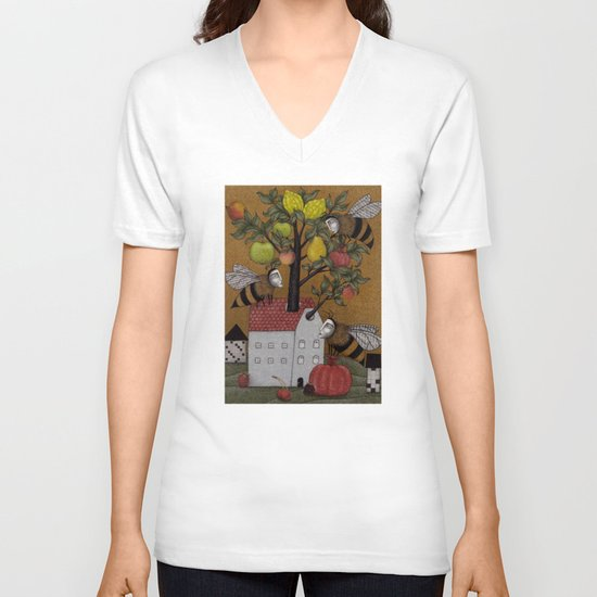 We need the BEE! V-neck T-shirt