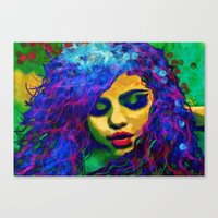 Selena (pop) Canvas Print