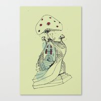 The Shroooom Canvas Print
