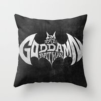 The GD BM Throw Pillow