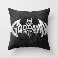 The GD BM Throw Pillow