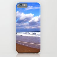 iPhone & iPod Case featuring Empty Beach by Susanne Van Hulst