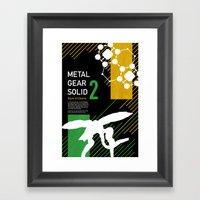 Metal Gear Solid 2: Sons… Framed Art Print