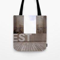 Paris EST Library Tote Bag
