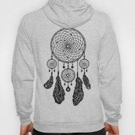 Dreamcatcher (Black & Wh… Hoody
