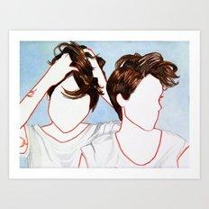 Tegan and Sara Art Print