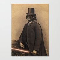 Lord Vadersworth Canvas Print