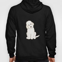 Cream Labradoodle Dog Il… Hoody