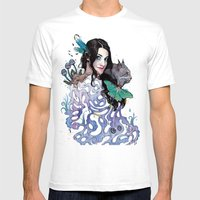 Lilitha Mens Fitted Tee White SMALL