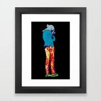 Turista I Framed Art Print