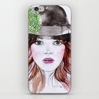 Emma Stone iPhone & iPod Skin