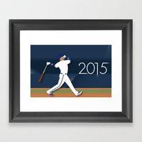 Joey Bats 2015 Framed Art Print