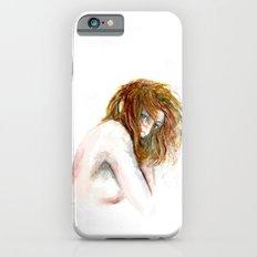 Hidden girl iPhone 6 Slim Case