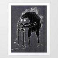 Computa Dood Art Print