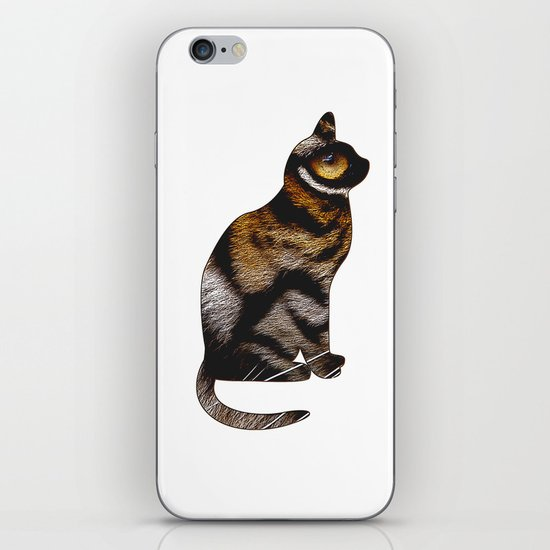 THE TIGER WITHIN iPhone & iPod Skin