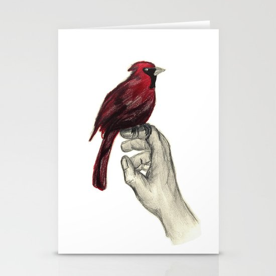 Cardinal Focus Stationery Card