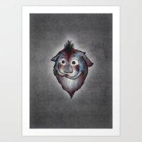 Ghost / Alone Art Print
