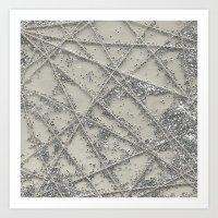 Sparkle Net Art Print