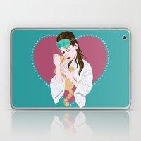 Holly Golightly's cat / Audrey Hepburn Laptop & iPad Skin