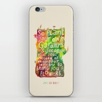 Jorge Luis Borges iPhone & iPod Skin