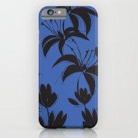 Black And Dark Blue Nigh… iPhone 6 Slim Case