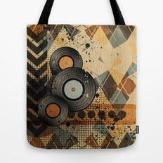 Retro Vinyl. Tote Bag