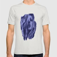 Kate 2.0 Mens Fitted Tee Silver SMALL