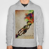 BREATHING MUSIC TO LIFE Hoody