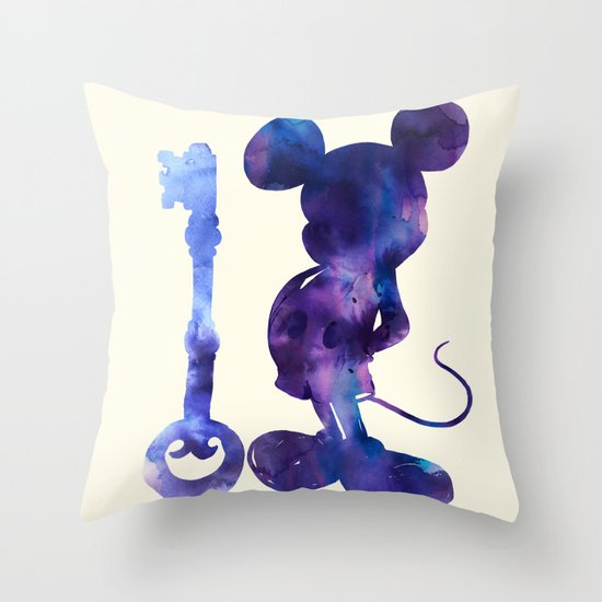 The Key Throw Pillow