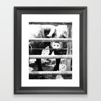 Pig Farm 2 Framed Art Print