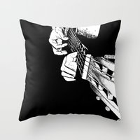 Pure Music! Throw Pillow