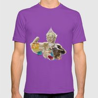 Namaste °Note to the Mother^ Mens Fitted Tee Ultraviolet SMALL