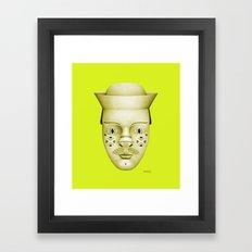 Hank Framed Art Print
