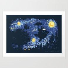 A Night for Spirits Art Print